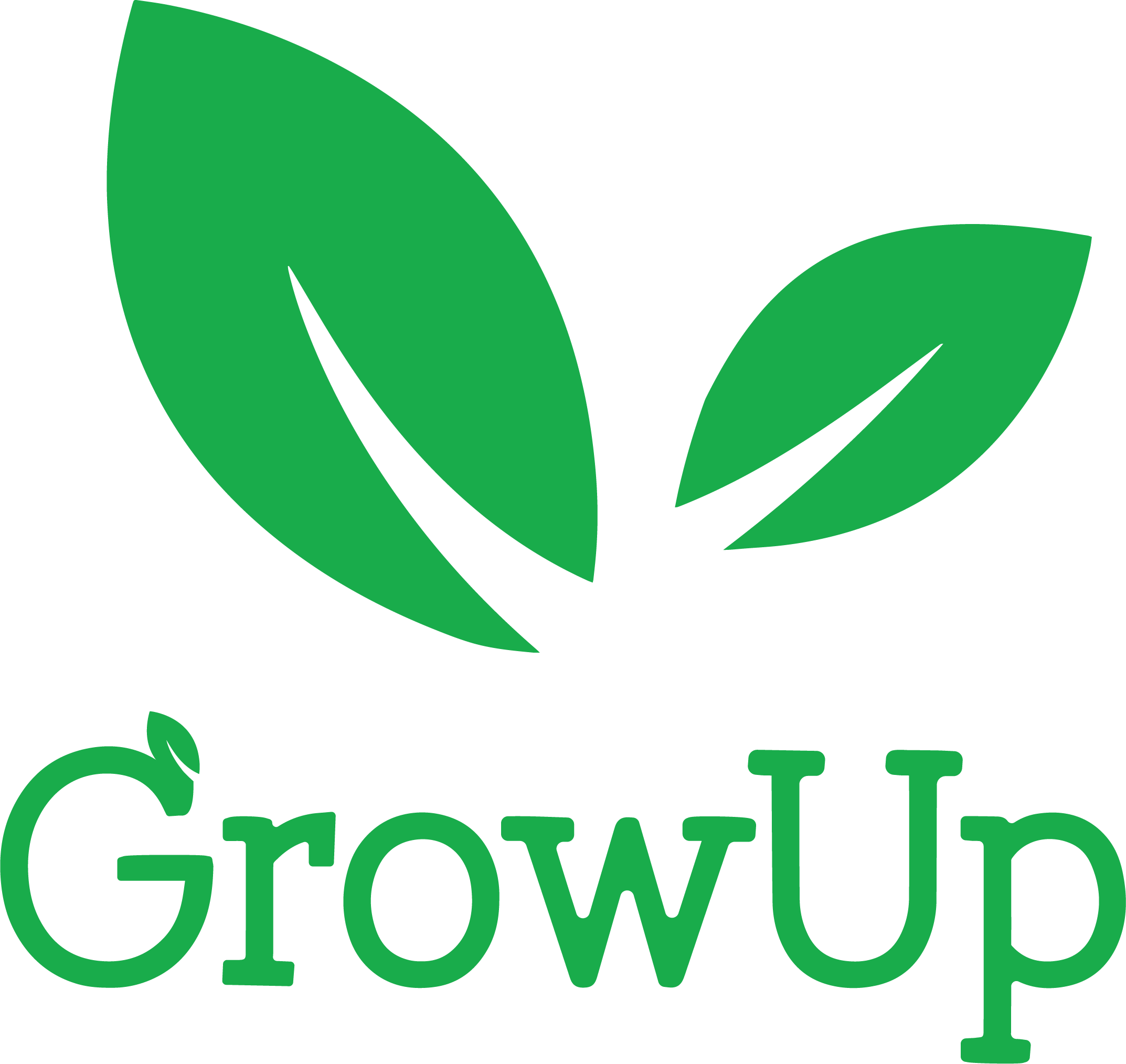 GROW UP ROUNDED logo August 2017