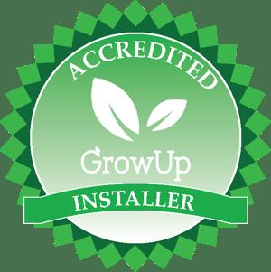 Accredited Installer Badge